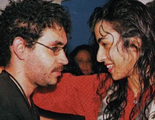 """Marisa Monte e Renato música """"Celeste""""gravada pela Legião com o título de """"Soul Parsifal"""" em """"A Tempestade"""" (1996)."""