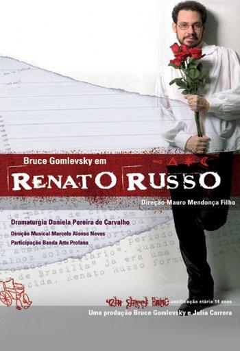Resultado de imagem para tributo a renato russo - Bruce Gomlevsky
